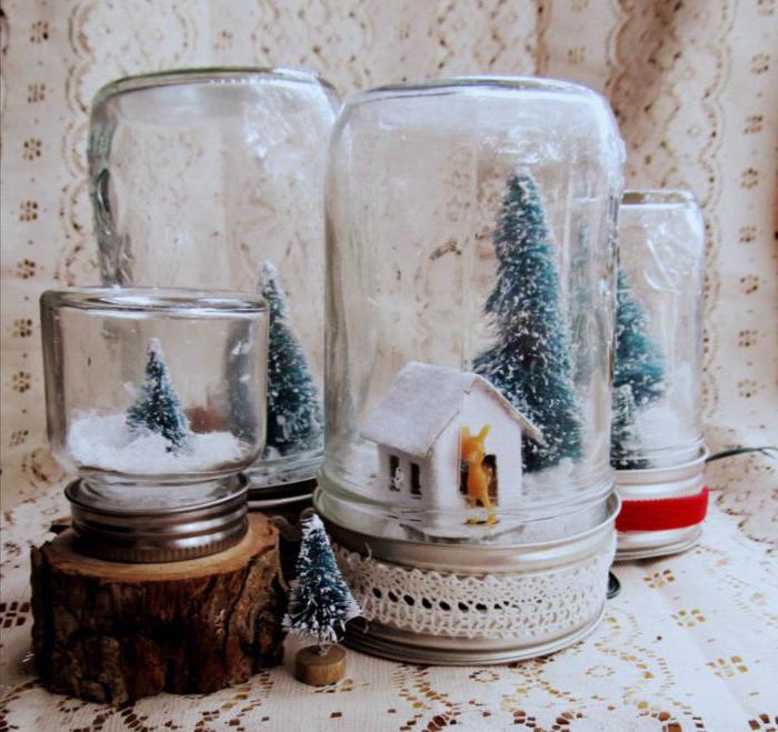 Как сделать новогодние снег своими руками 72