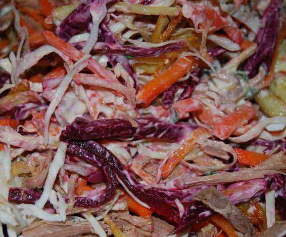 салат татарский с говядиной рецепт