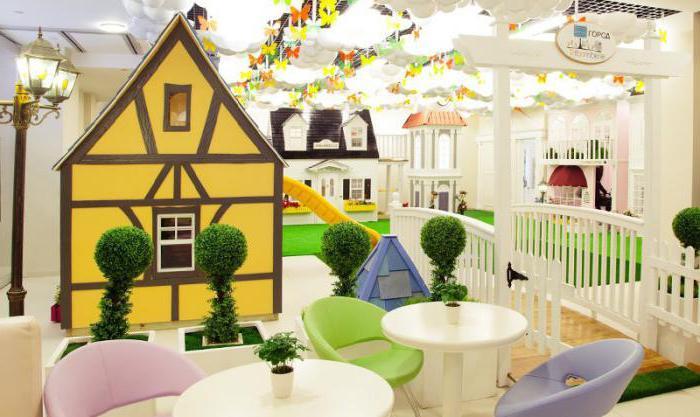 Ресторан с детской игровой комнатой