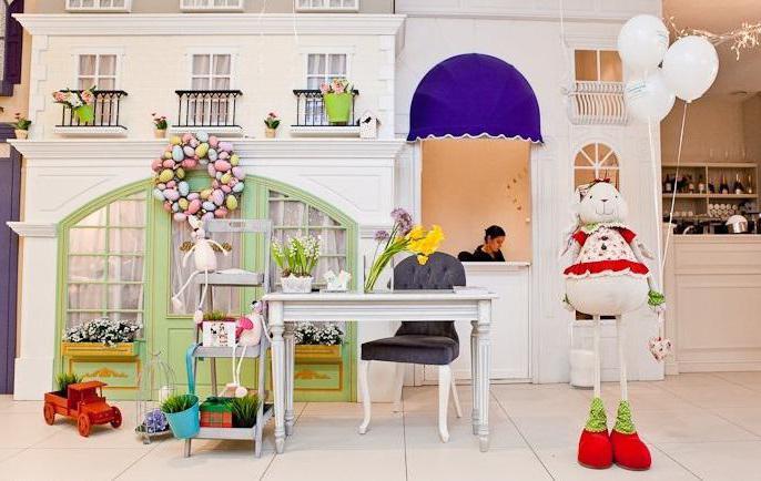 Кафе-ресторан с детской комнатой