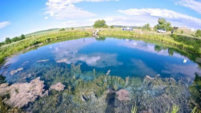 александровск голубое озеро