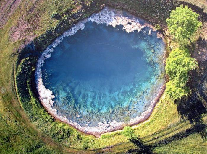 голубое озеро самарская область