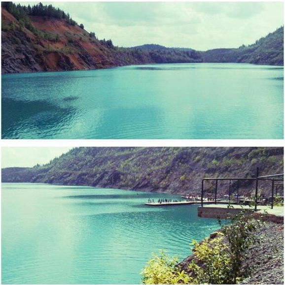 голубое озеро пермский край
