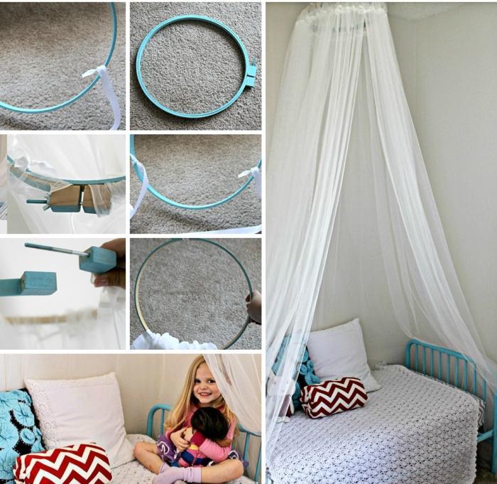 Как сделать балдахин над кроватью
