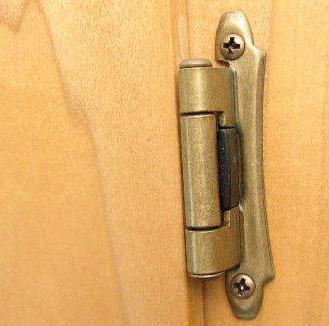 виды дверных петель особенности конструкций