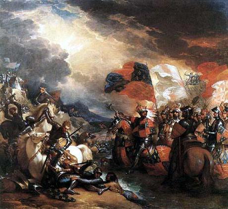 1346 год битва при креси
