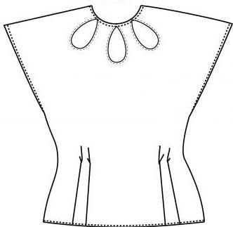 выкройка платья с юбкой тюльпан