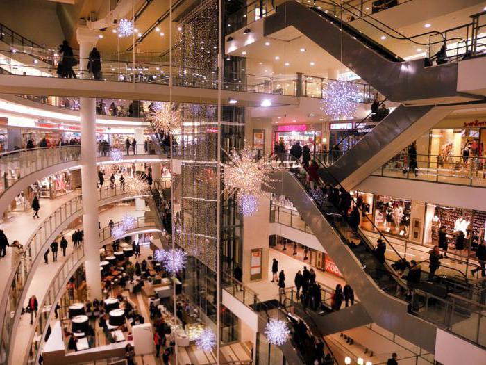 Торговые центры Санкт-Петербурга