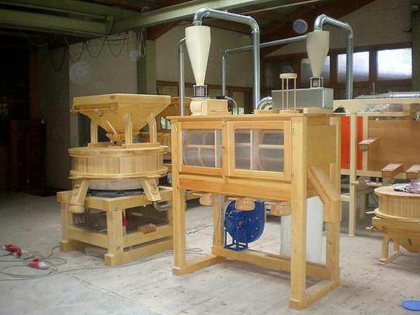 Промышленные мельницы для зерна