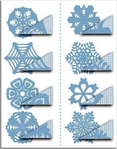 Как сделать снежинку круглую из бумаги своими руками