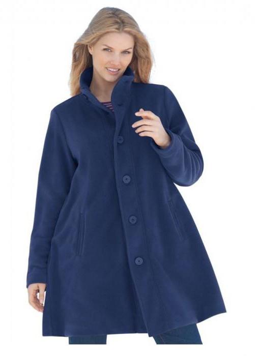 готовая выкройка пальто женского
