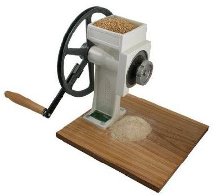 Ручная мельница для зерна своими руками