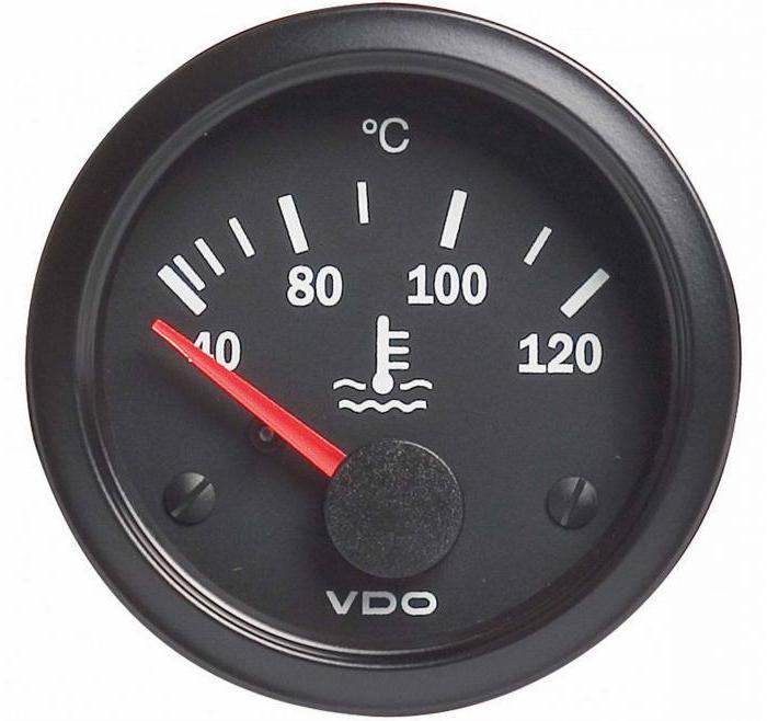 температура двигателя зимой