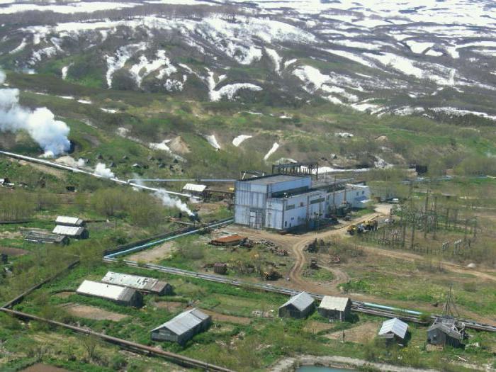 геотермальные электростанции в России