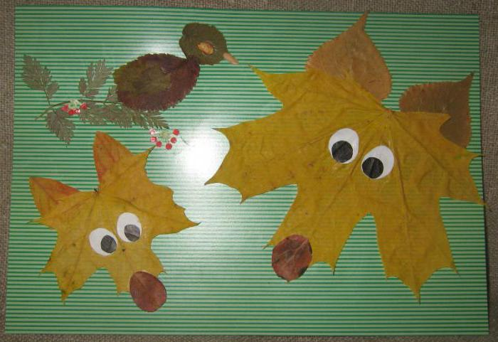 панно из листьев фото