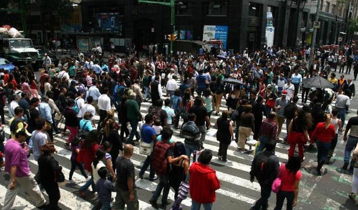 население мехико