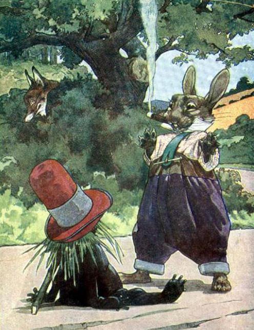 сказка про лиса и кролика