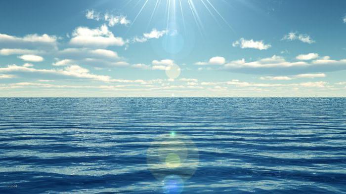 к чему снится голубой океан