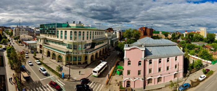 гостиницы в тюмени в центре