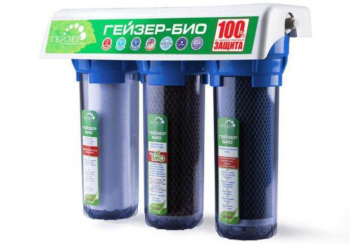 фильтр для воды гейзер замена картриджей
