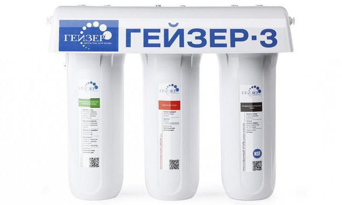 картриджи для фильтров воды гейзер 3