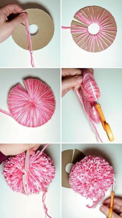 Как сделать бубенчик из нитки 381
