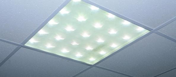 светильники потолочные светодиодные типа армстронг