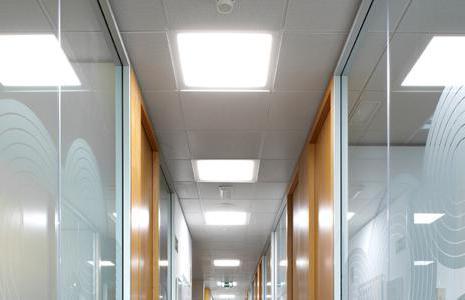 светодиодные светильники типа армстронг накладные