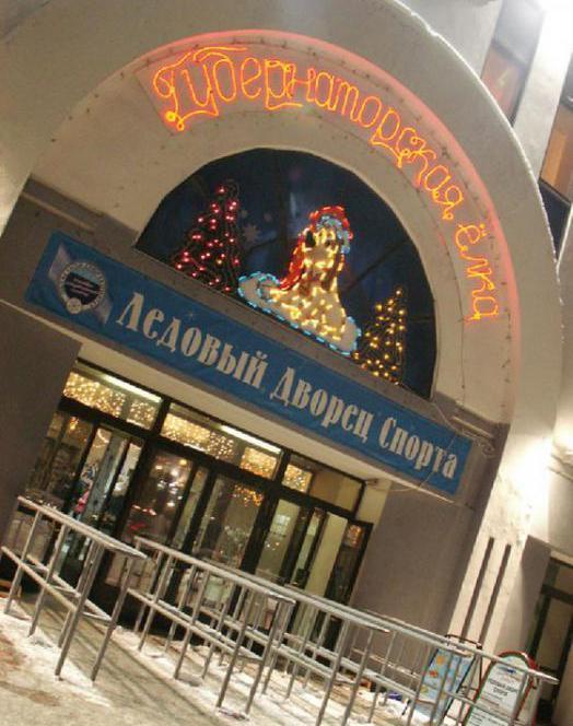 ледовый дворец спорта мурманск