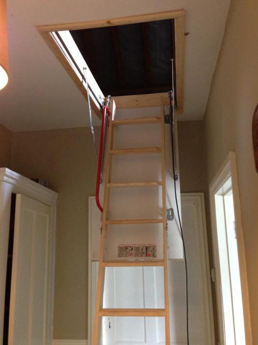 установка чердачной лестницы fakro