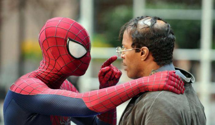 новый человек паук высокое напряжение сюжет