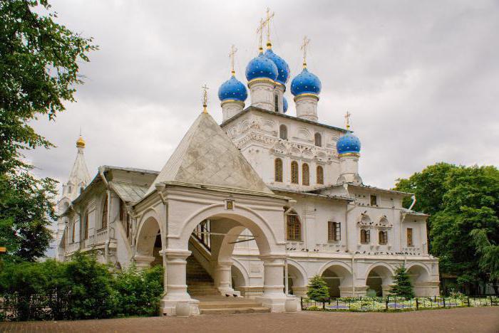 Храм в селе Коломенском