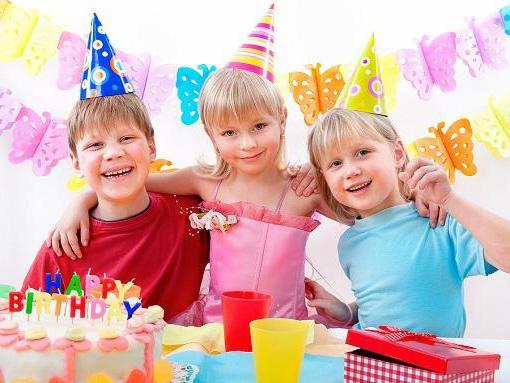 где проводят детские дни рождения