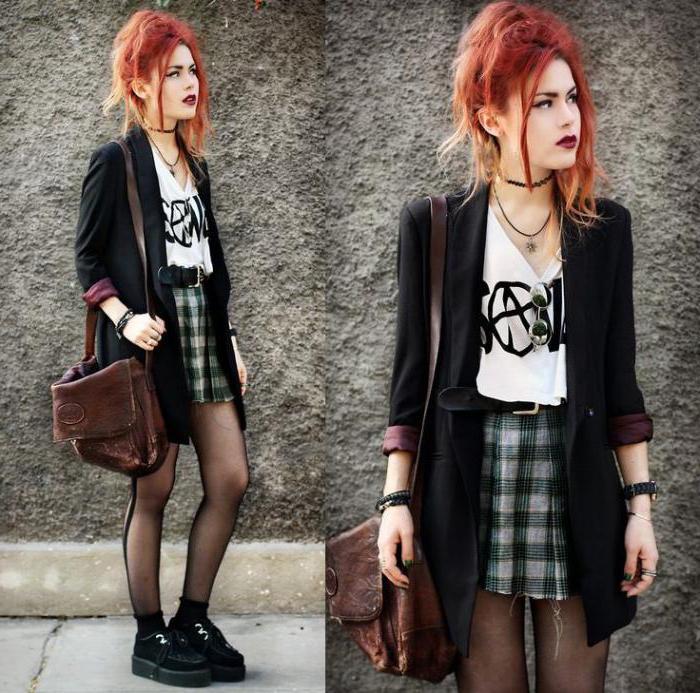 мода в стиле панк