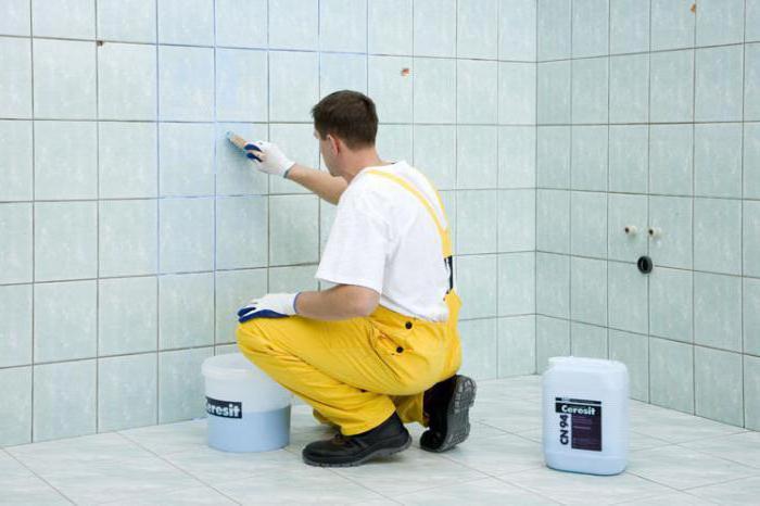 как приклеить плитку на плитку в ванной