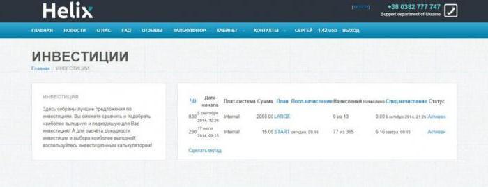 хеликс капитал в казахстане отзывы