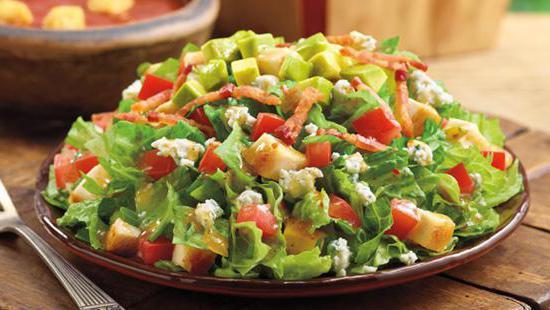 Диетический салат с курицей в домашних условиях рецепт с