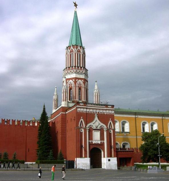 никольская башня москва