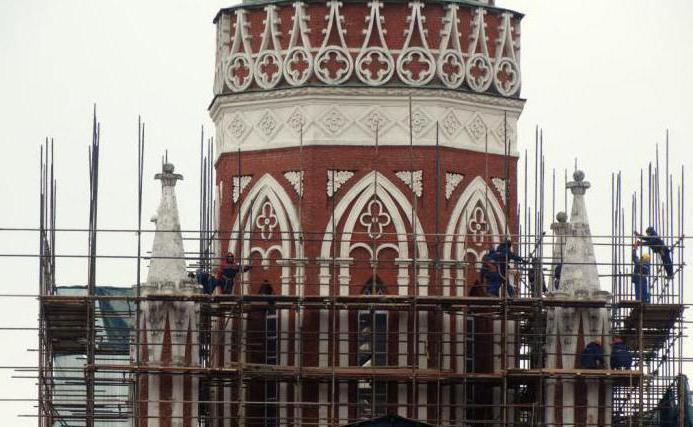 реставрация никольской башни