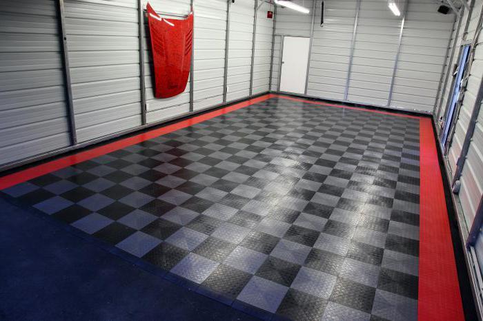 напольное пвх покрытие для гаража