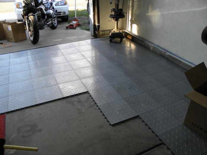 напольное покрытие для гаража резиновый пол