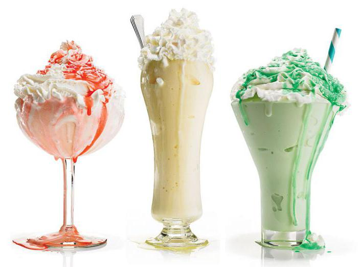 Коктейль из мороженого в домашних условиях рецепт с фото