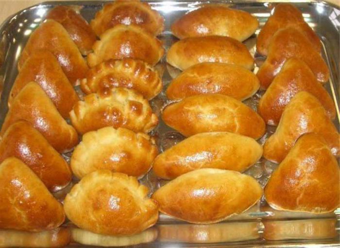 рецепт приготовления пирожков духовке фото
