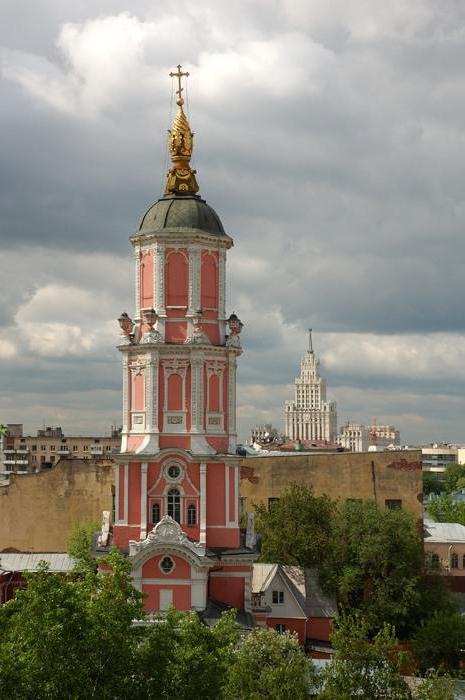 церковь Меньшикова башня
