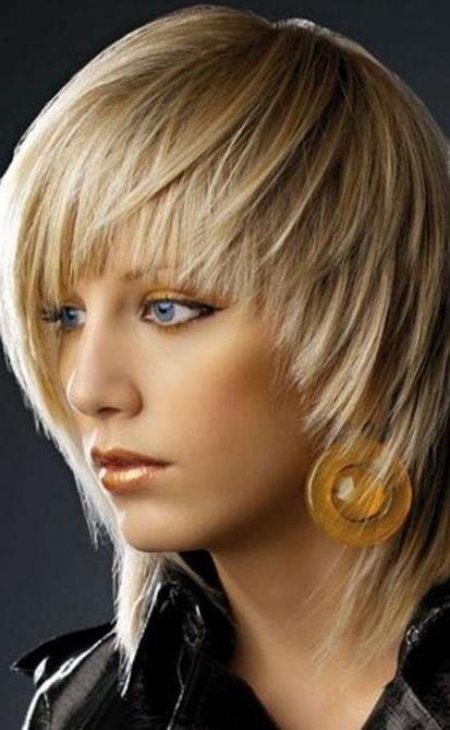 креативные прически на средний волос фото