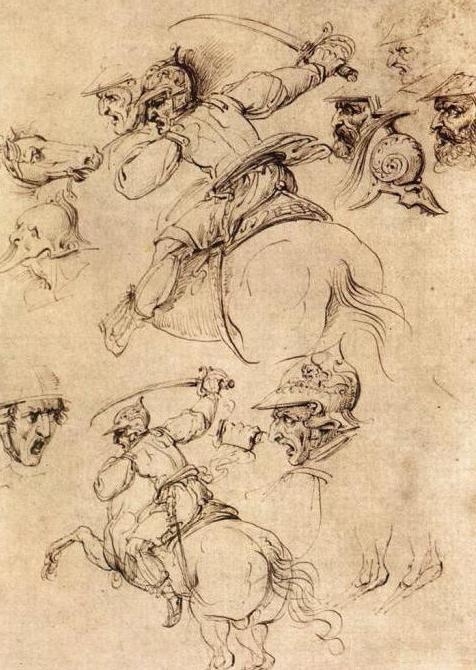 леонардо битва при ангиари
