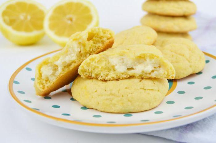 рецепт печенья с лимонной начинкой