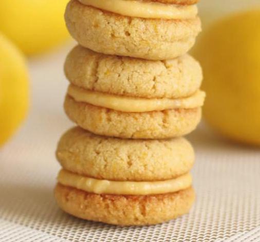 рецепт лимонного песочного печенья