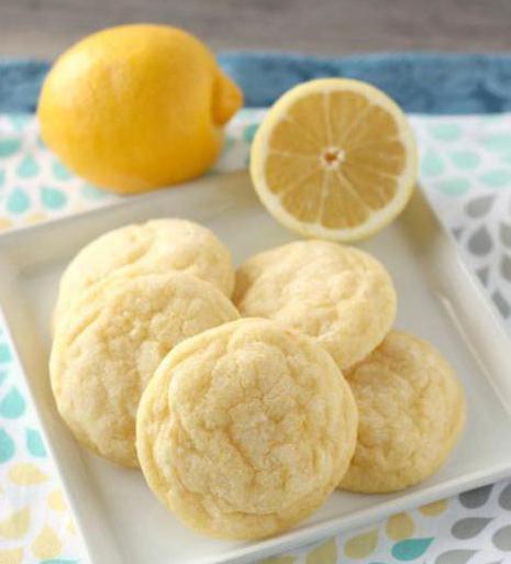 лимонное печенье рецепты