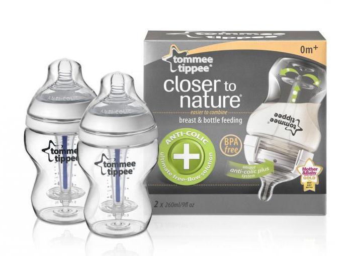бутылочки для кормления томми типпи